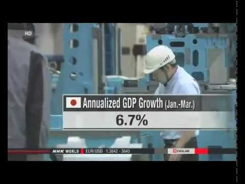 Japan: GDP growth upgraded to annual 6.7%