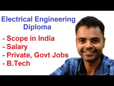 Scope Of Diploma In Electrical Engineering In India, Salary, Govt Job, Private Job, B.Tech Hindi