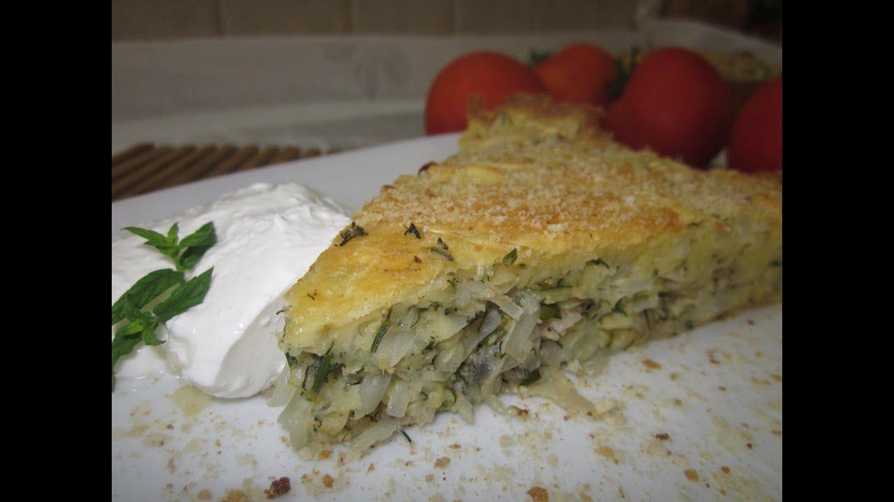 Рецепт-  Ленивый капустный пирог