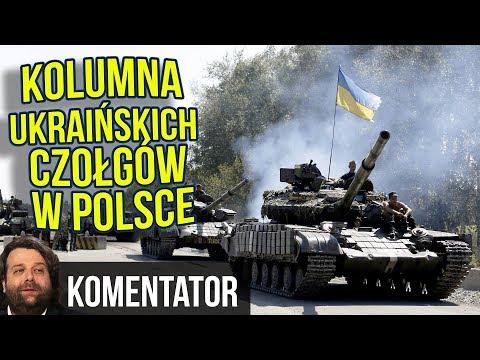 ⚠️ Kolumna Ukraińskich Czołgów w Polsce - BEZ NADZORU