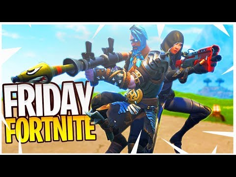 Ali And I Pretending To Be In The Friday Fortnite Tournament!