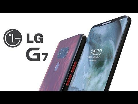 LG G7, así de impresionante es este concepto del próximo tope de gama de LG