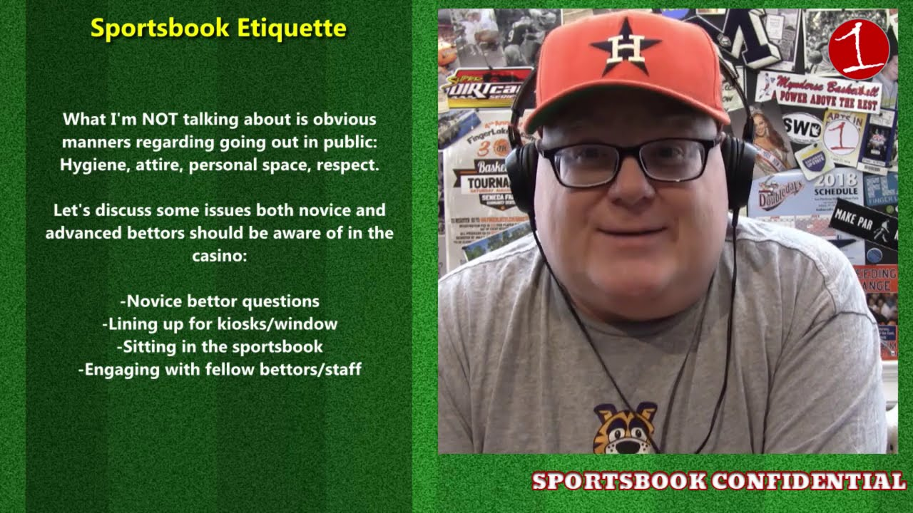 SPORTSBOOK CONFIDENTIAL: Sportsbook Etiquette & NFL Week 3 (podcast)