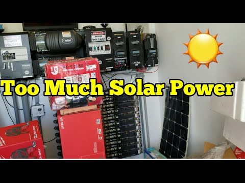 It Happened To Much Solar Power Now What !