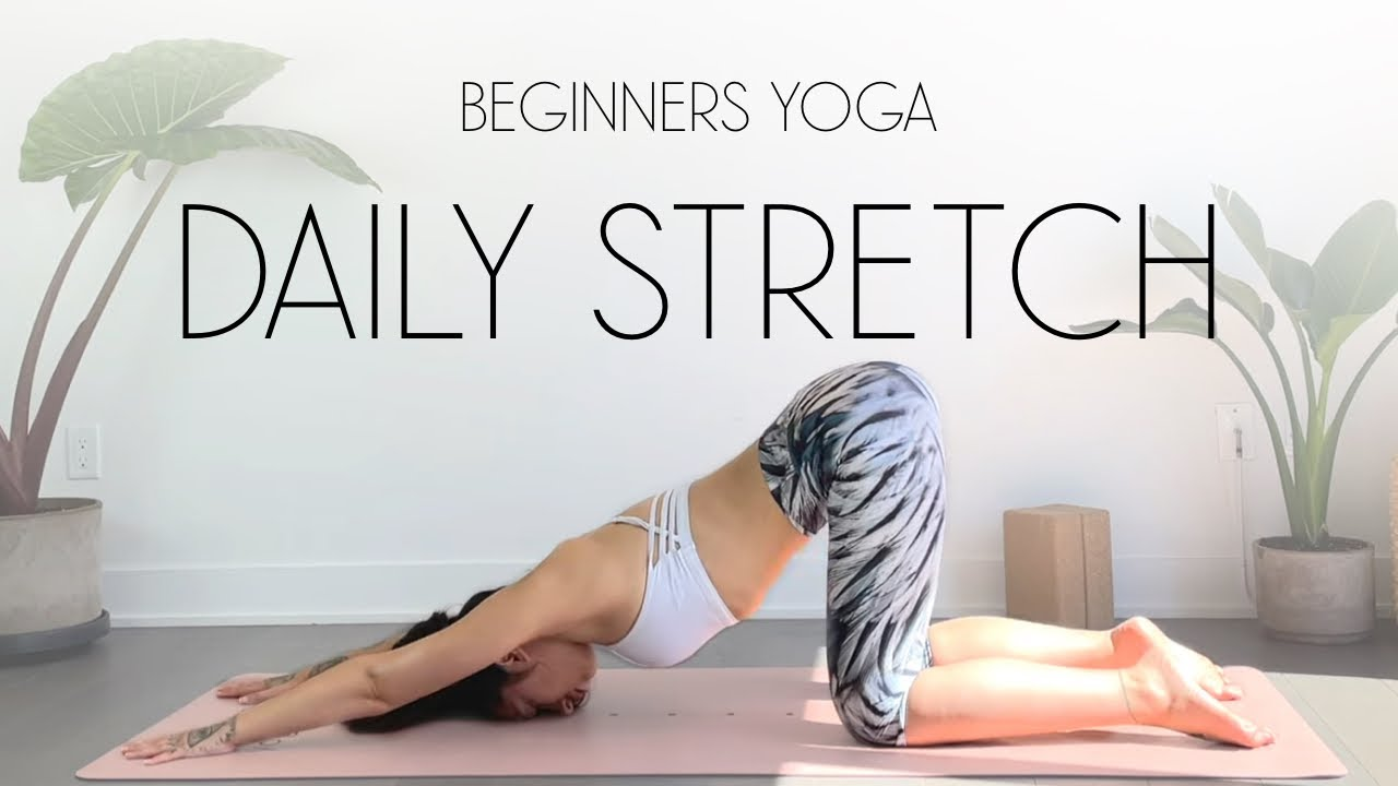10 Min Beginners Yoga Full Body Stretch