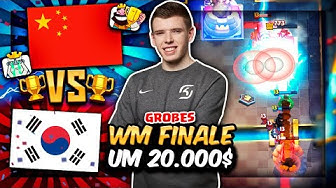 GROßES WM FINALE um 20.000$! | China vs. Südkorea! | Clash Royale Deutsch