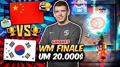 GROßES WM FINALE um 20.000$! | China vs. Südkorea! | Clash Royale Deutsch