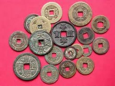 My Dad's Chinese Cash Coin Collection