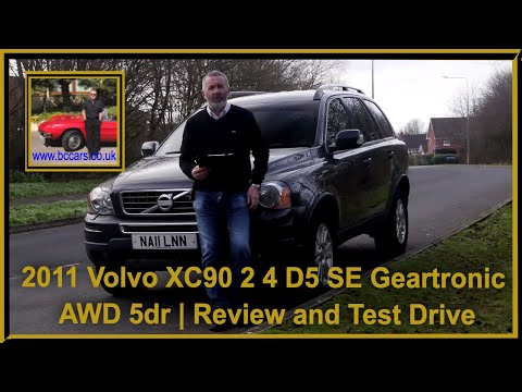 Review and Virtual Video Test Drive In Our 2011 Volvo XC90 2 4 D5 SE Geartronic AWD 5dr NA11LNN