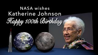 NASA wishes Katherine Johnson a Happy 100th Birthday