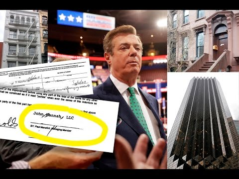 Paul Manafort's Puzzling New York Real Estate Purchases