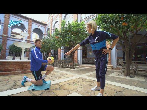 «Зенит-ТВ»: 10 упражнений от Марии Буровой для тех, кто сидит дома