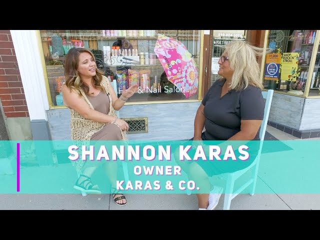 Chamber on the Go visits Kara's & Co in Port Huron, Michigan