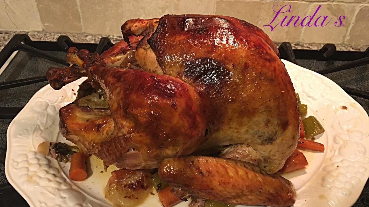 how to make a turkey in the oven