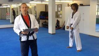 Yellow Belt with Black Stripe Requirements