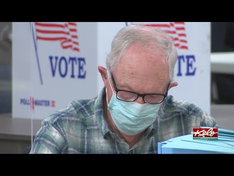 Precincts, voters are adapting to a pandemic election.