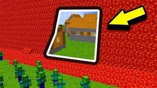 СТЕНА ИЗ ЛАВЫ ПОЧТИ РАЗРУШЕНА ОТ ЗОМБИ В МАЙНКРАФТ   GONG #8 МАЙНКРАФТ ЗОМБИ АПОКАЛИПСИС Minecraft Z