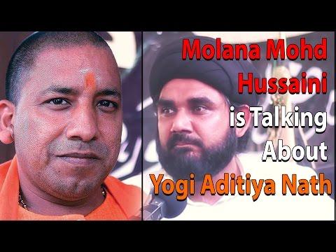 Maulana Hussaini is Talking About Adityanath Yogi In JogiPura   MUST WATCH