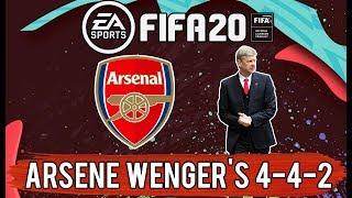 Recreate Arsenal Invincibles Tactic in FIFA 20 (Arsene Wenger)   FIFA 20 Custom Tactics