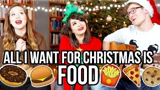 "ALL I WANT FOR CHRISTMAS IS FOOD (Mariah Carey ""Cover"")"