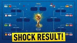 FIFA 18 PREDICTS THE WORLD CUP ROUND OF 16! Sweden vs Switzerland, Colombia vs England & More!