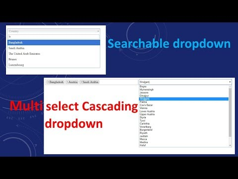 Searchable and Multi-select Drop DownList in ASP NET MVC   Select2