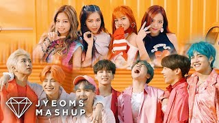 BTS & BLACKPINK - BOY WITH LUV X AS IF IT'S YOUR LAST (MASHUP) [feat. HALSEY]