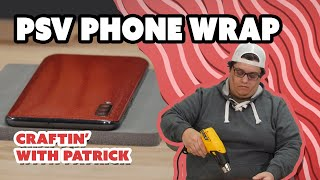 Vinyl Expert Teaches You How To Wrap Your Phone With Siser PSV  - Craftin' With Patrick