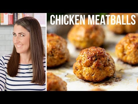 How to Make Easy Baked Chicken Meatballs