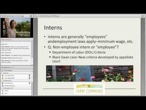 Labor Law & Your Farm/Ranch Business