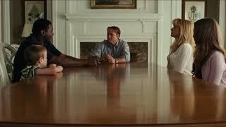 Хочешь ли ты стать членом нашей семьи? ... отрывок из фильма (Невидимая Сторона/The Blind Side)2009