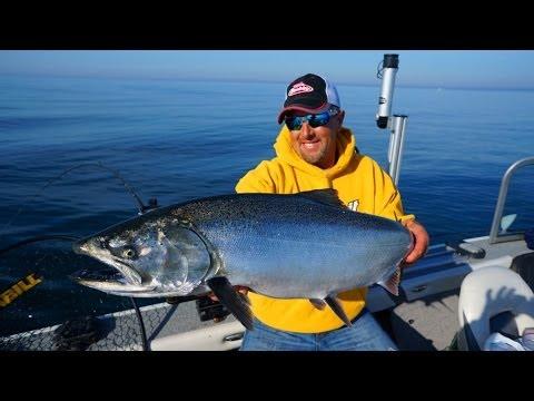 Trolling For King Salmon June 2014