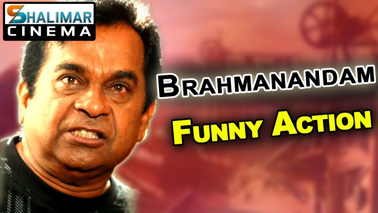 brahmanandam best funny action scenes telugu back to back comedy   youtube