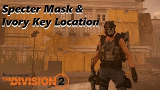 The division 2 7th ivory key found metamorphosis cipher solved