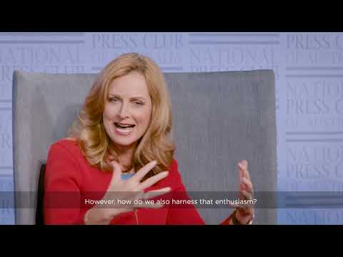 Naomi Simson (Co-Founder Of RedBalloon) Discusses Supporting Australian Start-ups