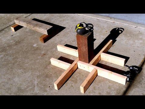 Building A Backyard Parkour Park #1 - Making Precision Trainers