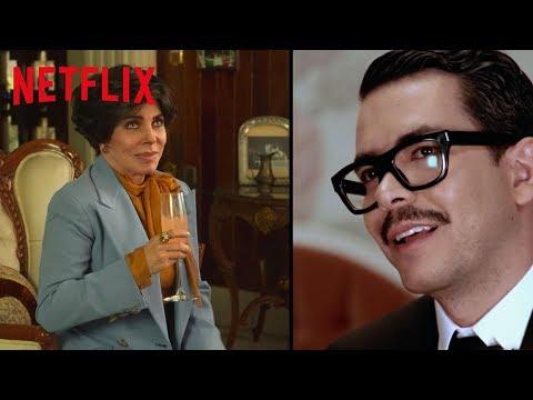 Veronica Castro y Manolo Caro de La Casa de las Flores se confiesan   Netflix
