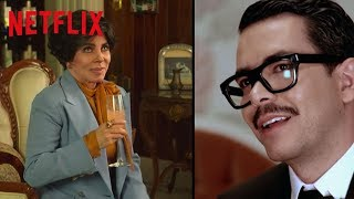Veronica Castro y Manolo Caro de La Casa de Las Flores se confiesan | Netflix