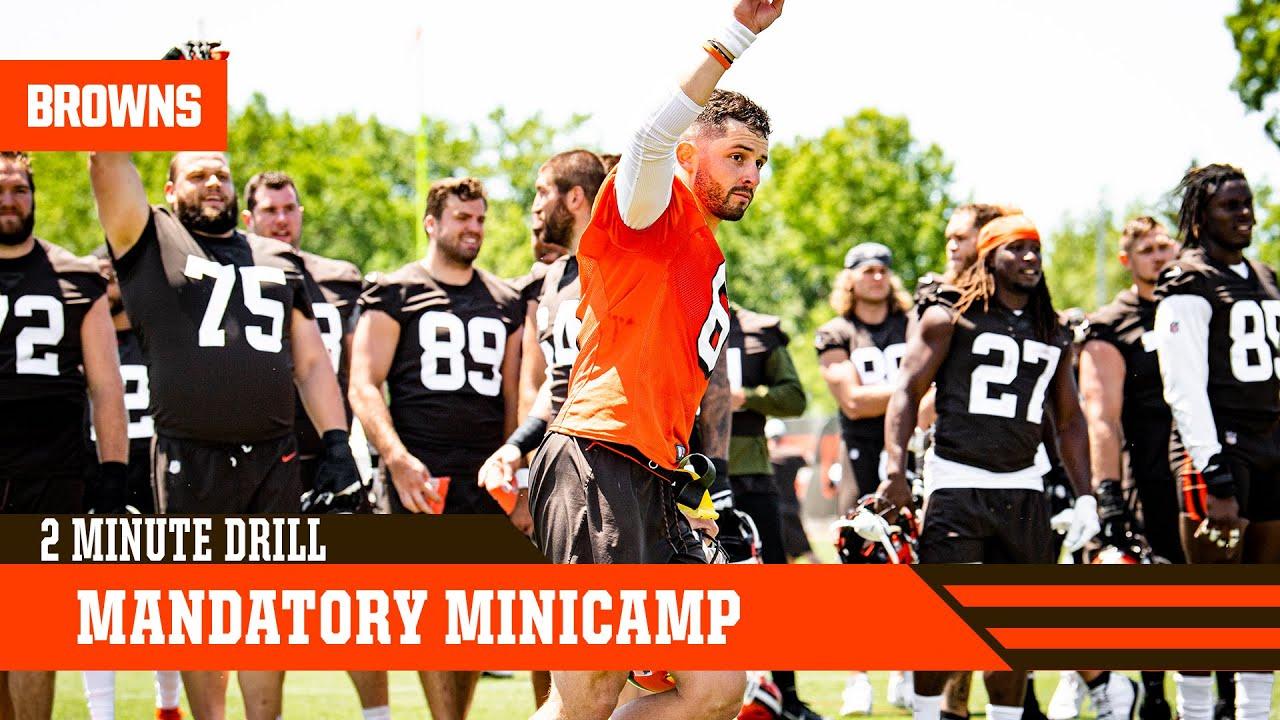 Mandatory Minicamp  | 2 Minute Drill