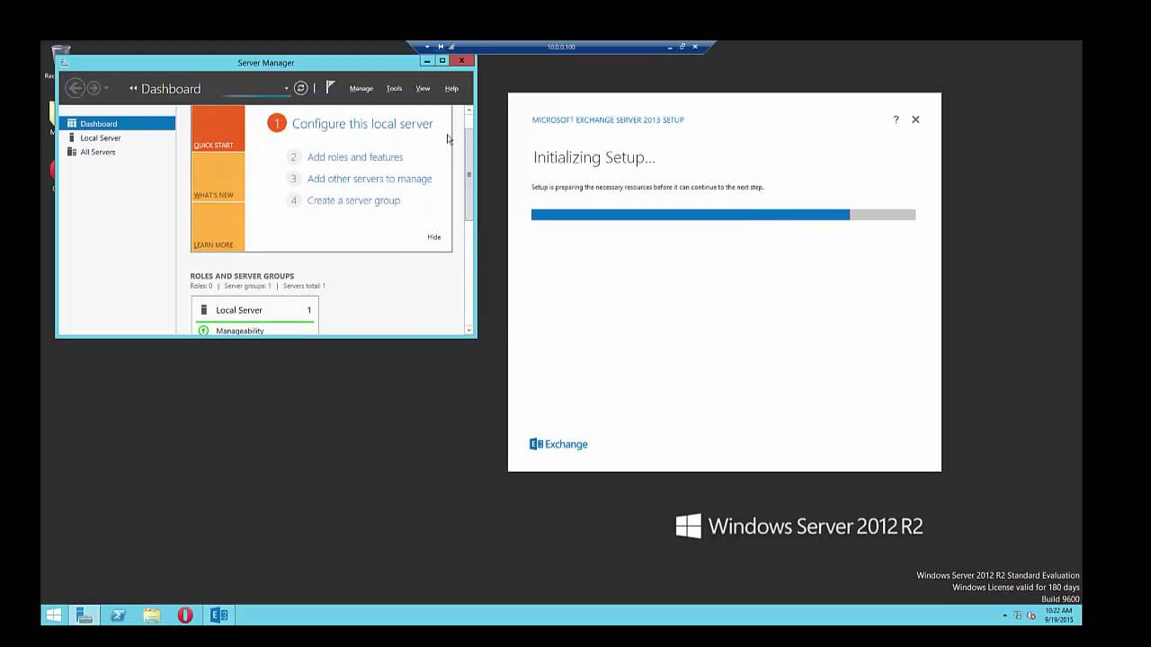 Install server 2012 , Install exchange server 2013 & configure step by step  (unedit)
