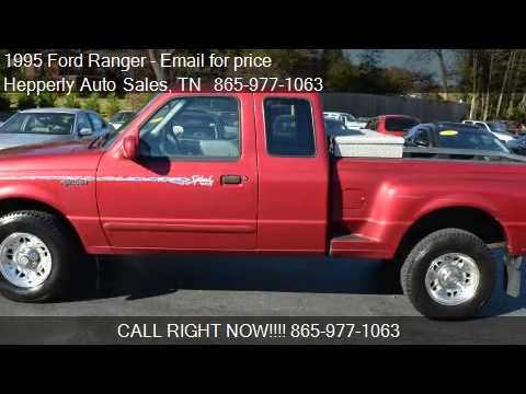 Maryville Auto Sales >> 1995 Ford Ranger Splash 2dr 4WD Extended Cab Stepside SB for - YouTube