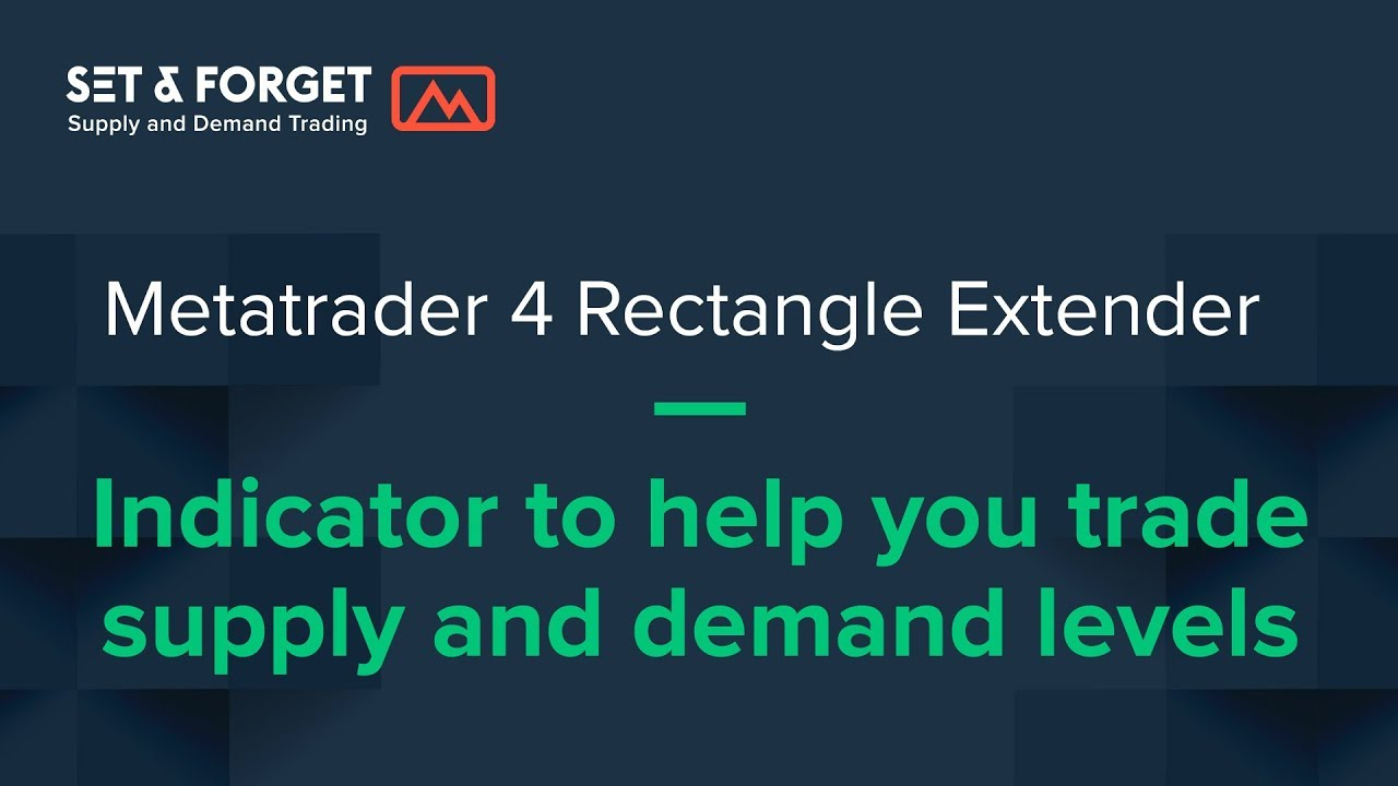Rectangle Reader Extender Metatrader Indicator version 3 1, how to use it  with supply and demand
