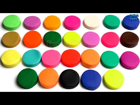 Learn Colors with Play Doh|ABCDE Plastilina Alfabet|A B C D E Play Doh|Playdoh Dough Game for Kids