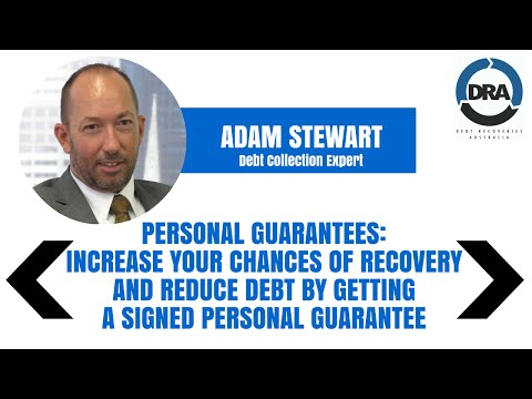 Personal Guarantees - Better Credit Control with Adam Stewart