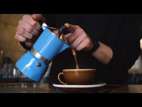 How To Make Moka Pot Coffee. Tutorial