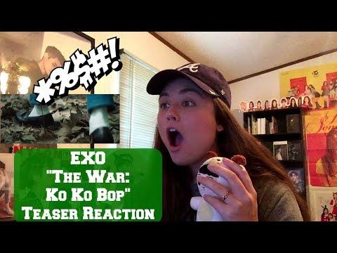 EXO The War (Ko Ko Bop) MV Teaser Reaction