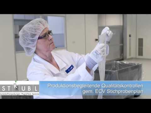 Clean-Room-Packaging - plastic bag packaging according GMP, Pharma & Food approval, www.strubl.de