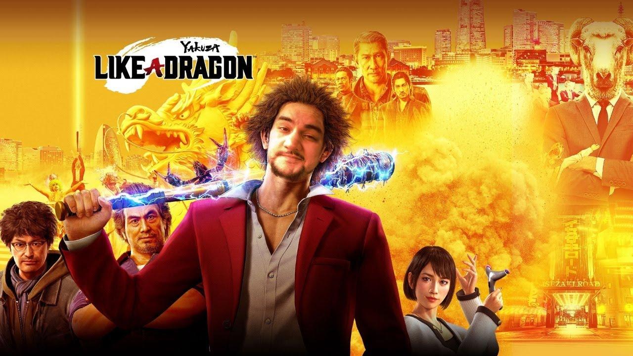 [18+] Шон играет в Yakuza: Like a Dragon, стрим 22 (Xbox Series X, 2020)19