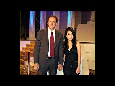 actor Nicolas Cage His former wife Alice Kim