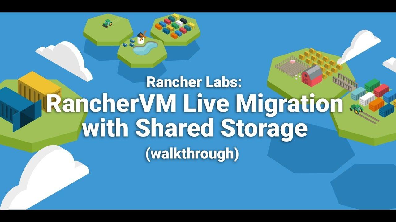 VM Migration | Docker Persistent Storage | Rancher